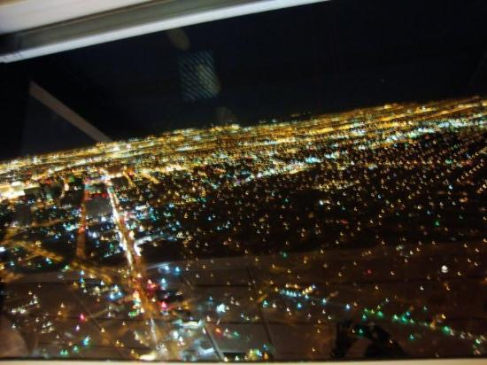 Stratosphere Tower: Vegas - from the top of the hotel stratosphere
