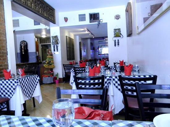 Bali Nusa Indah Restaurant: Interior of Bali Nusa Indah
