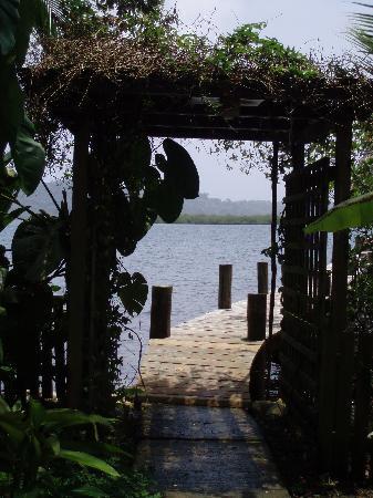 Garden of Eden Inn: One of the docks.