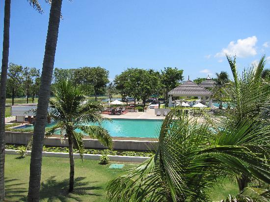 Novotel Chumphon Beach Resort&Golf: View from the room.