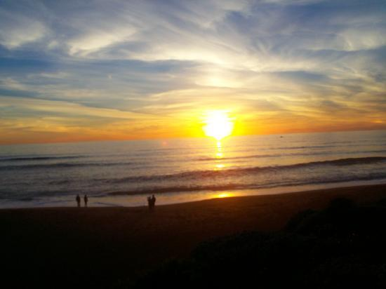 Moonstone Beach: Sunset