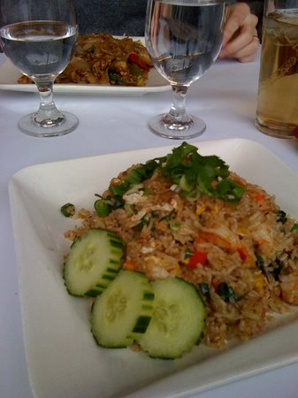 Photo of Asian Restaurant Khao Sarn at 250 Harvard Street, Brookline, MA 02446, United States