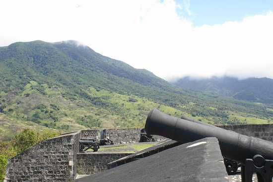 Basseterre, St. Kitts: Brimstone Hill
