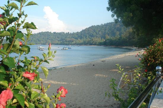 Pangkor, Malasia: The beach