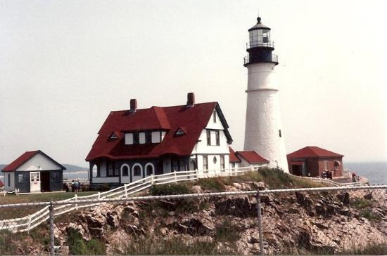 Πόρτλαντ, Μέιν: Fort Williams Lighthouse Portland, Maine