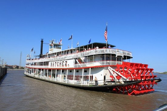 March 2010  New Orleans - Steamboat Natchez lunch cruise
