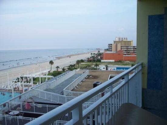 Desert Inn Balcony View In Daytona Beach Very Nice