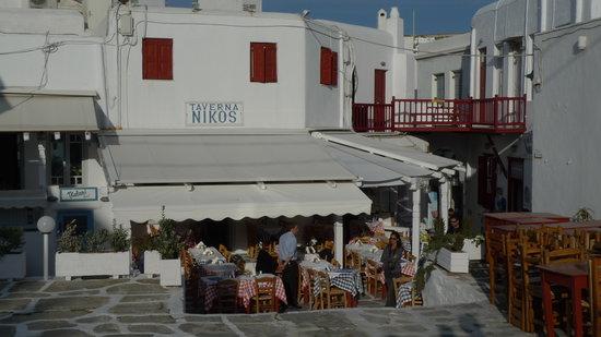 Niko's Taverna: The restaurant