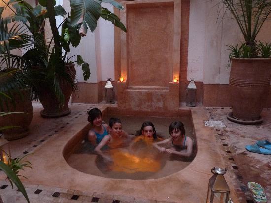 Riad Les 5 Soeurs: En el jacuzzi