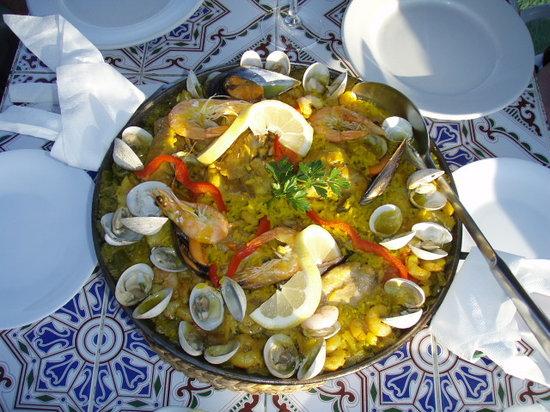 La Venta de Frigiliana: Paella (solo por encargo)