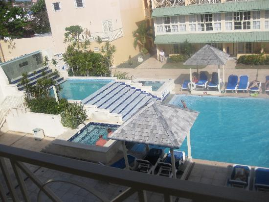 Village Inn & Spa at Rodney Bay: my view from my room