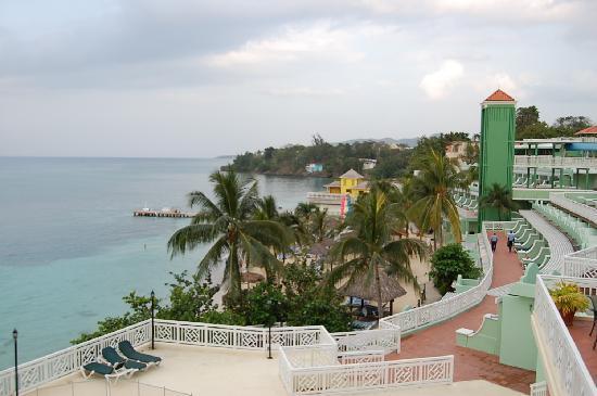 Beaches Ocho Rios Resort & Golf Club: View from our balcony