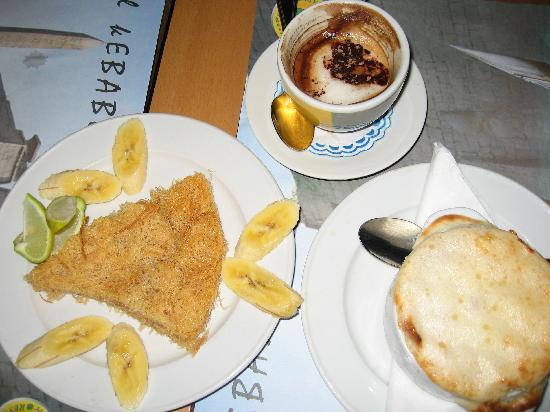 Metropolitan Cafe: エジプシャンスイーツ
