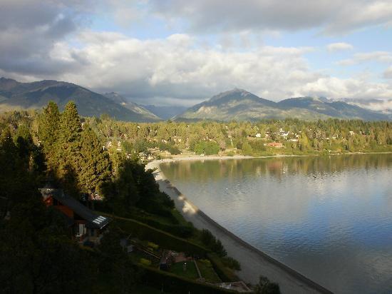 Charming Luxury Lodge & Private Spa: vista desde la cama