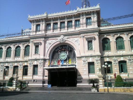 Foto de oficina central de correos ciudad ho chi minh ho for Oficina central correos madrid