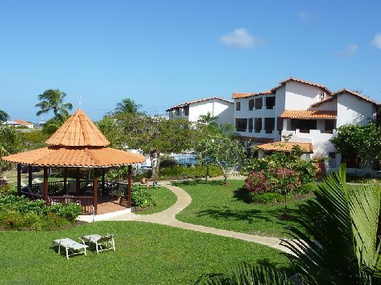 Sugar Cane Club Hotel & Spa : Gardens viewed from room balcony