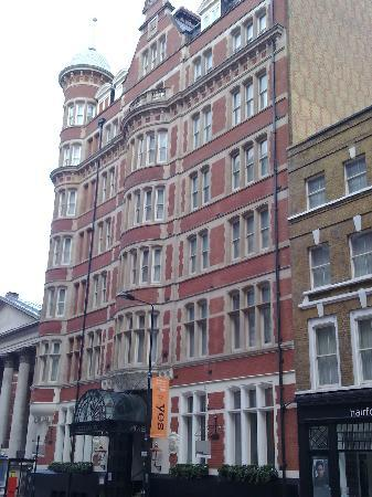Thistle Holborn, The Kingsley: The front of the hotel