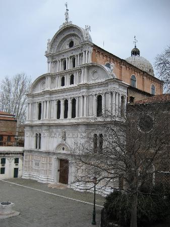 Villa Igea: Chiesa de S. Zaccaria desde nuestra ventana