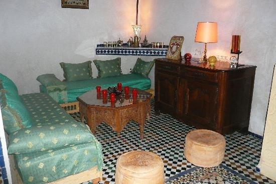 Dar Melody: salon marocain