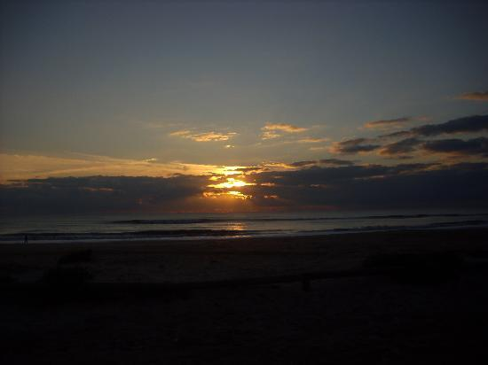 Chiclana de la Frontera, Spanien: Puesta de sol playa la Barrosa