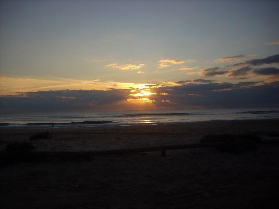 Chiclana de la Frontera, Ισπανία: Puesta de sol playa la Barrosa