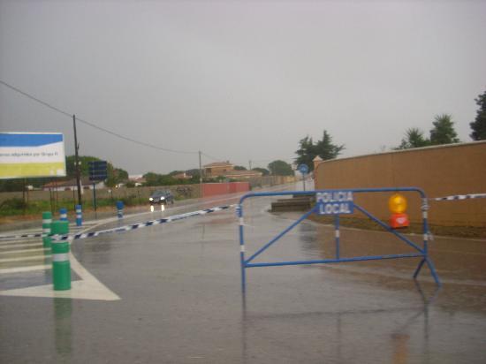 Chiclana de la Frontera, Spagna: Inundaciones de Santi Petri