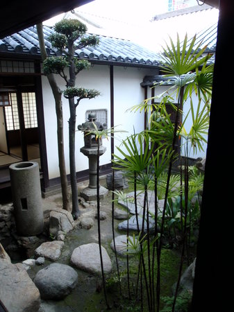 Kurashiki, Japan: Nice courtyard in the Ohashi House