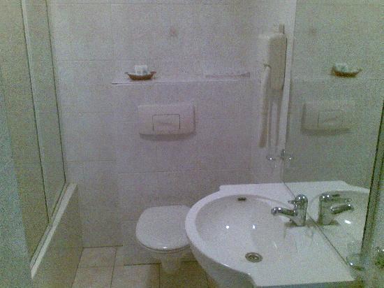 Logis Hotel Het Wapen van Harmelen : Room 1 bathroom