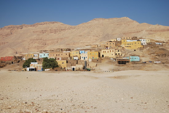 Luxor, Egypt: Gurna Village