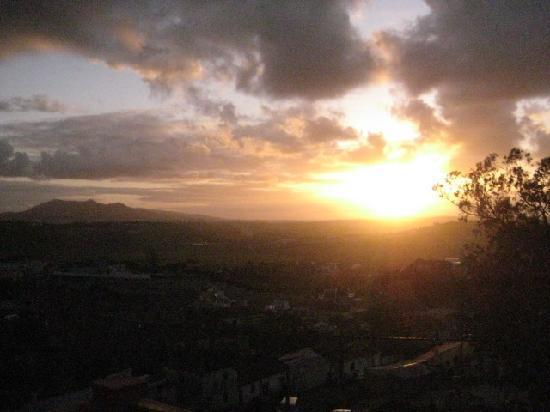 Sabugo, Πορτογαλία: Sonnenuntergang vom Balkon
