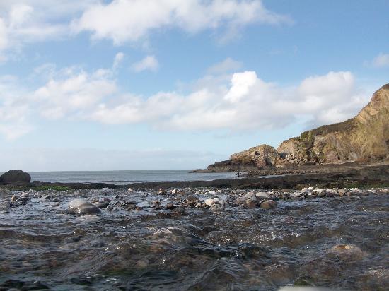 Mellstock House: Beach 1 minute walk away