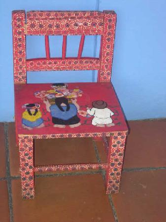 Casa de Siete Balcones: lovely original chair!