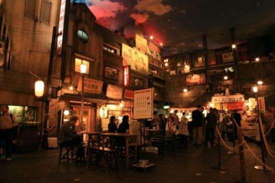 Shinyokohama Ramen Museum: บรรยากาศข้างในดู retro มากกก