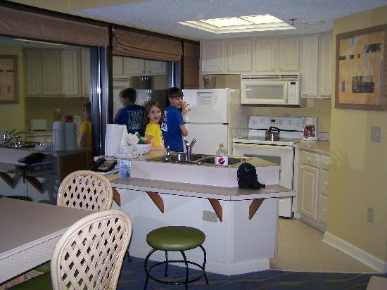 Seagl Tower Kitchen