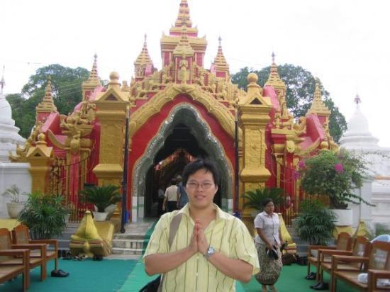 Mandalay, ميانمار: kuthodaw paya (pagoda) @ mandalay