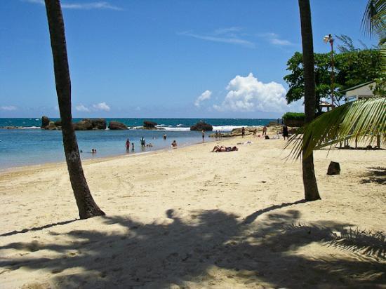 The Condado Plaza Hilton: On the beach at the Conrad San Juan Condado Plaza in San Juan, Puerto Rico.