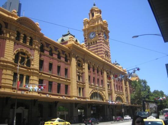 Bilde fra Flinders Street Station