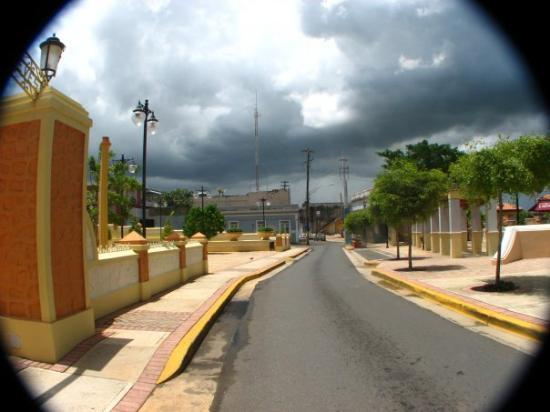 Aguadilla, Puerto Rico: rain is coming.... Parterre east to west