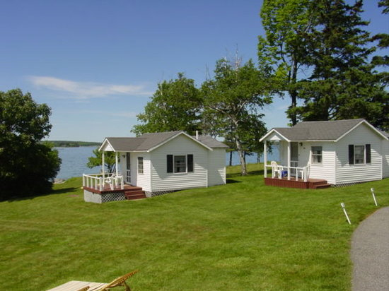 Emery's Cottages on the Shore: View of cottages 1A & 2A