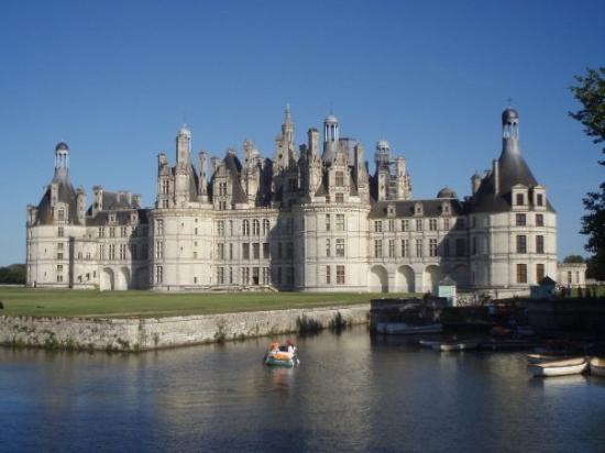 chateau chambord from across the river picture of saumur maine et loire tripadvisor. Black Bedroom Furniture Sets. Home Design Ideas