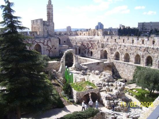 Musée de la Tour de David : Torre de David, Jerusalem (ciudad vieja)