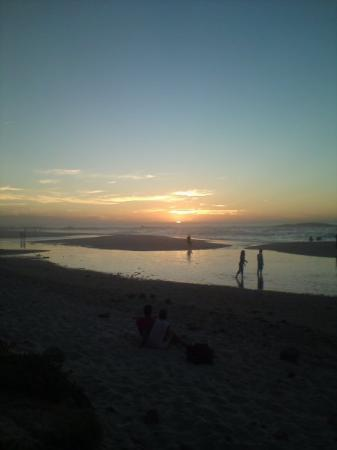 Camp's Bay Beach: Sunset over Camps Bay