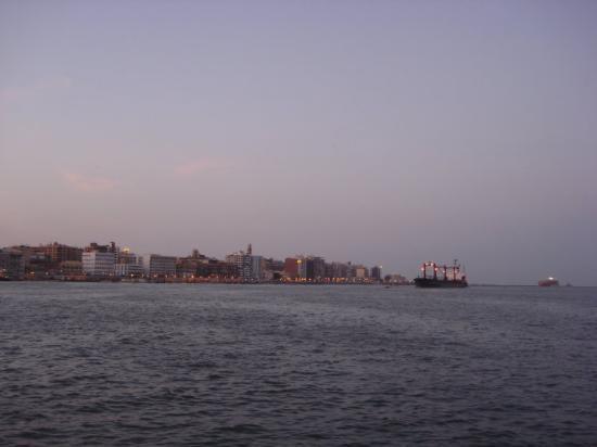 Suez Canal Bild