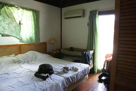 Antigua Cottages : una delle due camere
