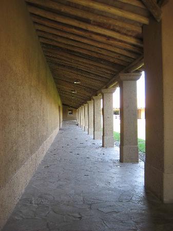 B&B Plaza Italia: bodega vistalba - courtyard