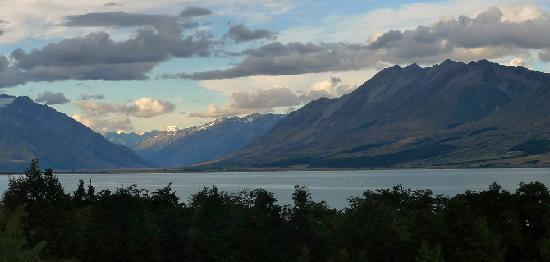 Lake Ohau, New Zealand: View from the room
