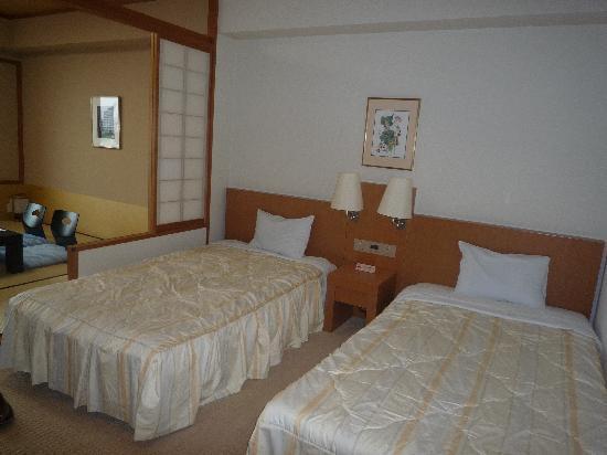 Resort Hotel Laforet Nankishirahama: 和洋室