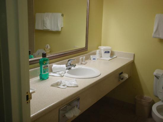 Howard Johnson Hotel Ponce PR: BATHROOM