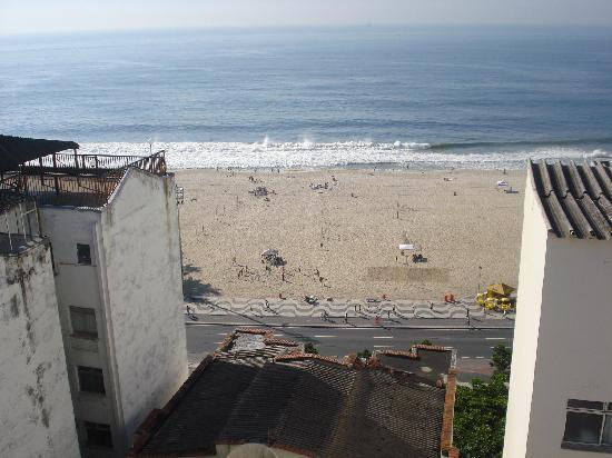 Toledo Copacabana Hotel: Vista do café da manhã