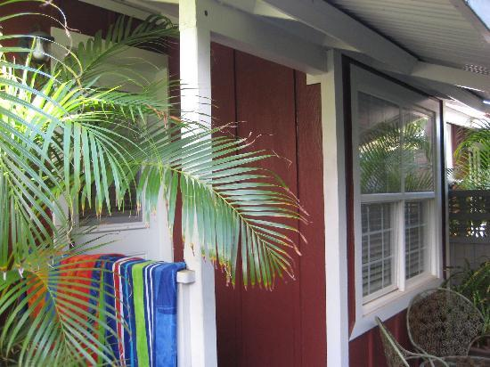 Paia Inn Hotel: Our bungalow